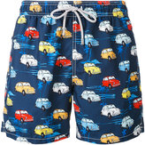 MC2 Saint Barth cars print swim shorts - men - Polyester/Polyamide/Spandex/Elastane - S