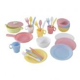 Kid Kraft Pastel Dining Set - 27 pieces