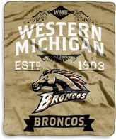 Bed Bath & Beyond Western Michigan University Raschel Throw Blanket