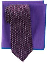 Ted Baker Remy Neat Silk Tie & Pocket Square Set
