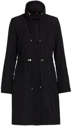 Moncler Malachite Long Rain Coat