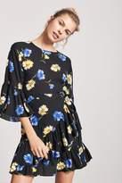 Forever 21 Floral Tulip Dress