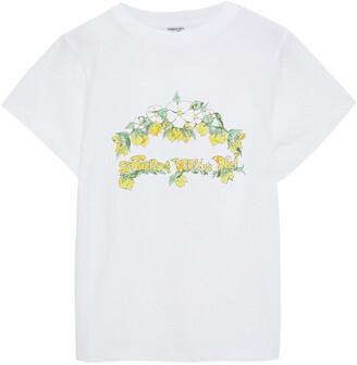 Shrimps Livia Printed Cotton-jersey T-shirt