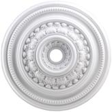 STUDY Titan Lighting English 32 in. White Ceiling Medallion