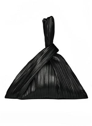 Nanushka Large Jen Pleated Vegan Leather Top Handle Bag