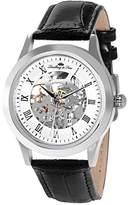 Lindberg & Sons L. Ume Men's Quartz Watch with Black Dial Analogue Display Quartz Leather LU4389 04