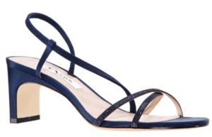 Nina Women's Gizel Low Heel Strappy Sandal Women's Shoes