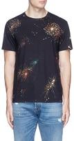 Valentino Fireworks print T-shirt