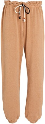DONNI Gem Cotton-Blend Joggers