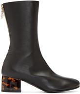 Stella McCartney Black High Ankle Boots