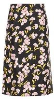 Marni Printed Cotton And Silk Skirt