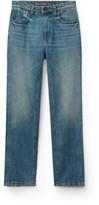 Denim cult straight leg jeans