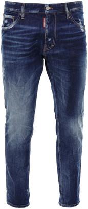 DSQUARED2 Straight Leg Boot Cut Jean Jeans