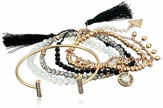 GUESS Women's 6 Pc Bracelet Set with Stones