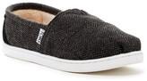 Toms Herringbone Wool Faux Shearling Slip-On Shoe (Little Kid & Big Kid)