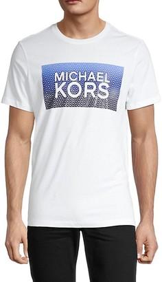 Michael Kors Fractiles Logo T-Shirt