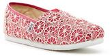 Toms Crochet Glitter Slip-On Shoe (Little Kid & Big Kid)