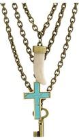 DSQUARED2 Triple Charm Necklace