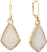 MONET JEWELRY Monet Jewelry White Drop Earrings