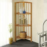 """Gallerie Decor Spa 12.5"""" W x 40.5"""" H Bathroom Shelf"""