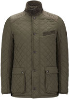 Knutsford Quilted Jacket With Cashmere Blend Lining Khaki