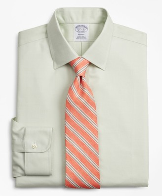 Brooks Brothers Regent Fitted Dress Shirt, Non-Iron Dobby
