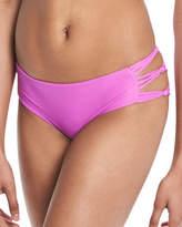 Mikoh Barcelona Strappy-Sides Swim Bikini Bottoms
