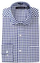 Tommy Hilfiger Checkered Regular Fit Dress Shirt