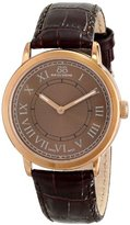 88 Rue du Rhone Unisex 87WA120016 Analog Display Swiss Quartz Brown Watch