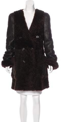 Chloé Reversible Shearling Coat