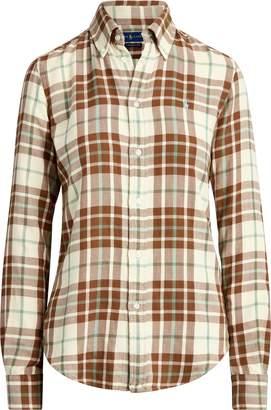 Ralph Lauren Plaid Cotton Twill Shirt