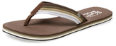 Original Penguin Colby Striped Flip-Flops