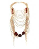 Multi-Layered Drape Necklace