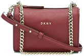 DKNY Women's Bryant Park Square Crossbody Bag Scarlet