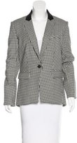 Veronica Beard Virgin Wool Houndstooth Blazer w/ Tags