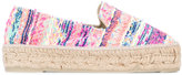 Manebi Yucatan espadrilles - women - Cotton/Raffia/Leather/rubber - 36