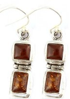 Exotic India Earrings - Sterling Silver