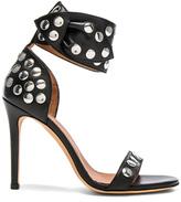 IRO Sandarok Leather Heels in Black.