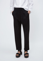 Haider Ackermann berkeley black / cantar black elastic waistband trousers