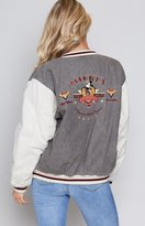 Beginning Boutique Vintage Mickey American Classic Bomber Jacket
