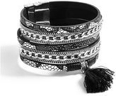 GUESS Liv Multi-Strand Embossed Cuff