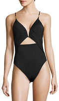 Nanette Lepore Swim Cutout One-Piece Swimsuit