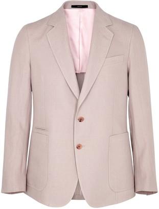Paul Smith Dusty Pink Linen Blazer