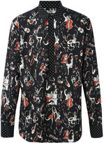 Dolce & Gabbana Jazz Club print shirt