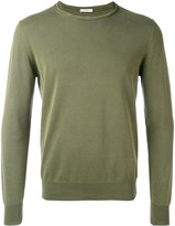 Paolo Pecora slashed crew neck jumper - men - Cotton - XS
