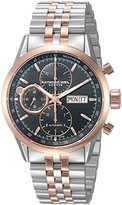 Raymond Weil Men's 'Freelancer' Swiss Automatic Stainless Steel Dress Watch, Color:Two Tone (Model: 7730-SP5-20111)