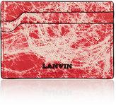 Lanvin Men's Marble-Print Card Case