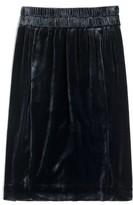 J.Crew Women's Pull-On Velvet Skirt
