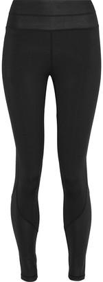Iris & Ink Paneled Coated Stretch Leggings
