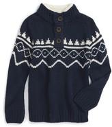 Pumpkin Patch Toddler Boy's Knit Sweater